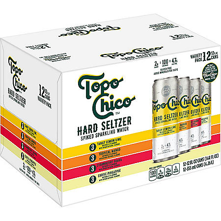 Topo Chico Hard Seltzer Variety Pack (12 fl. oz. can, 12 pk.)