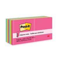 Post-it Pop-up Notes - Original Pop-up Refill, 3 x 3, Capetown, 100/Pad -  12 Pads/Pack