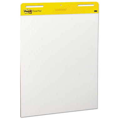 Post-It - Self-Stick Easel Pads, White, 30 Sheets - 2 Pack