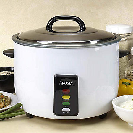Aroma 30-Cup Commercial Rice Cooker