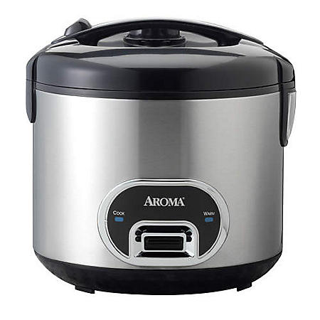 Aroma 10 Cup Rice Cooker & Food Steamer