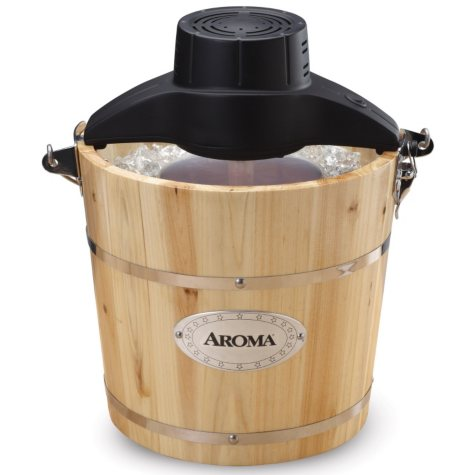 Aroma 4-Quart Traditional Ice Cream Maker