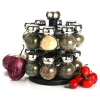 Olde Thompson Spice Rack with Spices