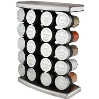 Olde Thompson Ship's Curve Spice Rack with 20 Spices
