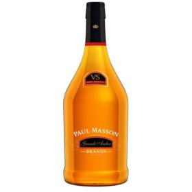 Paul Masson Grande Amber VS Brandy, 80 Proof(1.75 L)