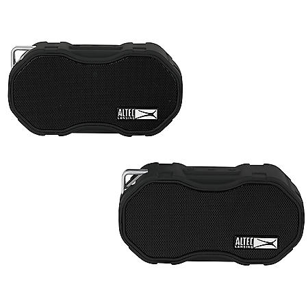 Altec Lansing BabyBoom XL Everything Proof Bluetooth Speaker 2-Pack (Various Colors)
