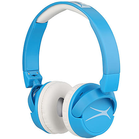 Altec Lansing 2-IN-1 Bluetooth and Wired Kid Friendly Headphones (Various Colors)