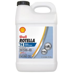Rotella T4 Triple Protection 15W40 (2-pack/2.5 gallon bottles)