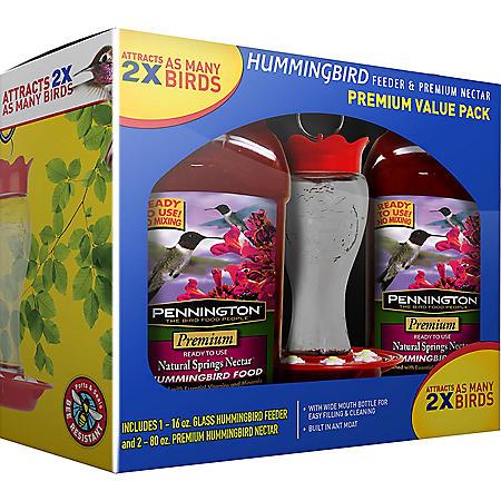 Pennington Hummingbird Feeder and Nectar Kit