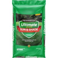 Pennington Ultimate Plus Grass Seed and Fertilizer Sun and Shade Southern Mix, 20 lb.
