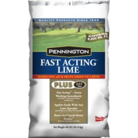 Pennington Fast Acting Lime Plus Advanced Soil Technology Soil Conditioner, 40 Lbs.