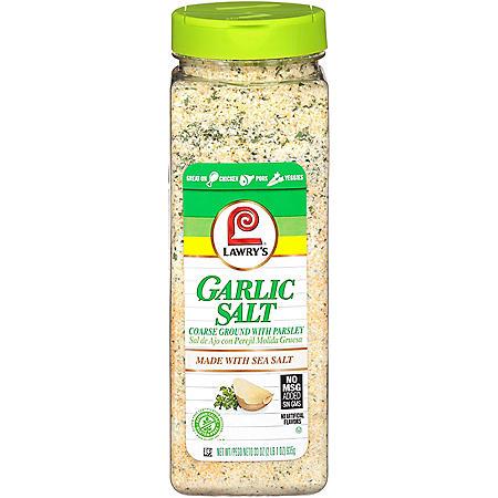 Lawry's Coarse Ground Garlic Salt with Parsley (33 oz.)