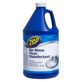 Zep Commercial No-Rinse Floor Disinfectant (1gal.)