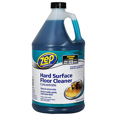Zep Commercial Hard Surface Floor Cleaner Concentrate - 1 gal.