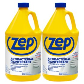 Zep Antibacterial Disinfectant and Cleaner, Lemon (1 gal., 2 pk.)