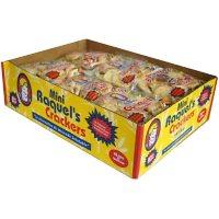 Raquel's Mini Cocktail Crackers - 1.5 oz. - 12 pk.