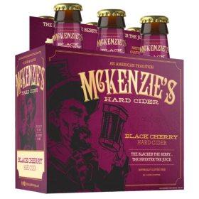 McKenzie's Black Cherry Hard Cider (12 fl. oz. bottle, 6 pk.)