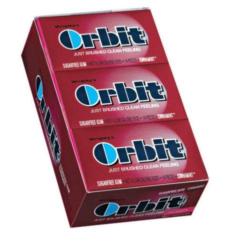 Wrigley's Orbit Cinnamint - 14 pc. pks. - 12 ct.