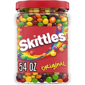 Skittles Original Fruity Candy Jar (54 oz.)
