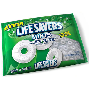 Lifesavers Wint-O-Green Mints - 73 oz.