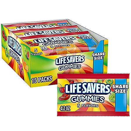 Lifesavers Gummies (4.2 oz., 15 pks.)