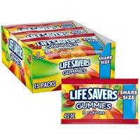 Life Savers Original 5 Flavors Gummy Candy Bulk Fundraiser Pack (4.2 oz., 15 ct.)