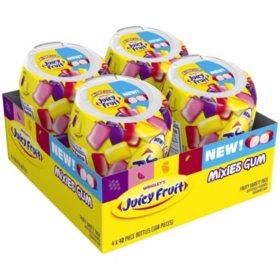 Juicy Fruit Mixies Fruity Chews Gum (40 per pk., 4 pk.)