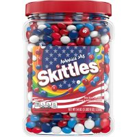 Skittles America Mix Red, White and Blue Patriotic Candy Jar (54 oz.)