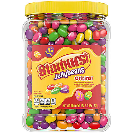Starburst Original Jelly Beans Easter Candy Tub (54oz.)