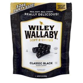 Wiley Wallaby Gourmet Black Licorice (32oz.)
