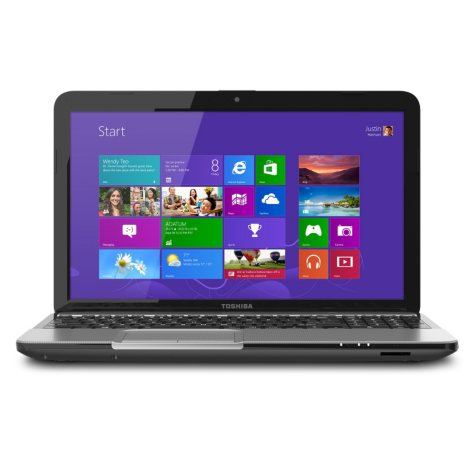 "Toshiba Satellite L855 15.6"" Laptop Computer, Intel Core i5-3230, 6GB Memory, 640GB Hard Drive"
