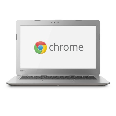 "Toshiba CB35-A 13.3"" Chromebook Laptop Computer, Intel Celeron 2955U, 2GB Memory, 16GB Hard Drive"