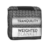 Tranquility Chunky Knit Weighted Blanket, 12 lbs.
