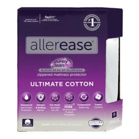 AllerEase Ultimate Protection and Comfort Temperature-Balancing Waterproof Mattress Protector