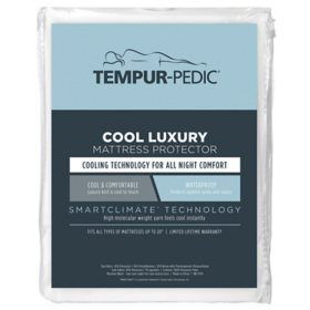 Tempur-Pedic Cool Luxury Mattress Protector (Assorted Sizes)