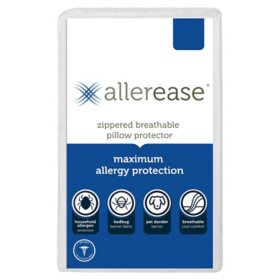 AllerEase Maximum Bed Bug and Allergy-Proof Pillow Protector (Assorted Sizes)