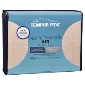 Tempur-Pedic Performance Air Sheet Set (Assorted Colors and Sizes)
