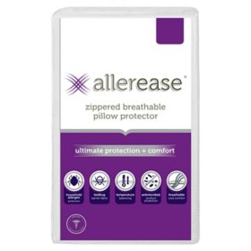 AllerEase Ultimate Protection and Comfort Pillow Protector (Assorted Sizes)