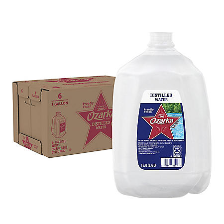 Ozarka Distilled Water (1gal / 6 pk)