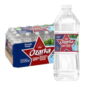 Ozarka 100% Natural Spring Water (20oz / 28pk)