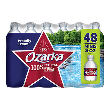 Ozarka 100% Natural Spring Water (8 oz., 48 pk.)