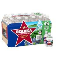 Ozarka 100% Natural Spring Water (8 oz., 48 pk.)