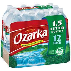 Ozarka 100% Natural Spring Water (1.5 L, 12 pk.)