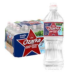 Ozarka 100% Natural Spring Water (700 ml bottles, 24 pk.)
