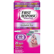 First Response Daily Digital Ovulation Test (20 ct.)