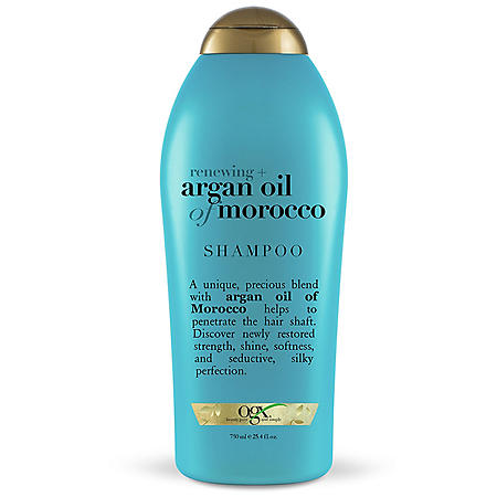 OFFLINEOGX Salon Size Renewing + Argan Oil of Morocco Shampoo 25.4oz with pump