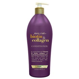 OGX Thick & Full Biotin & Collagen Conditioner (40 fl. oz.)