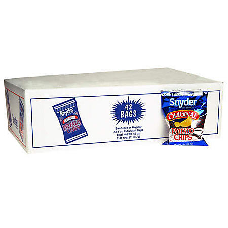 Snyder of Berlin Potato Chips - 1 oz. bags - 42 ct.