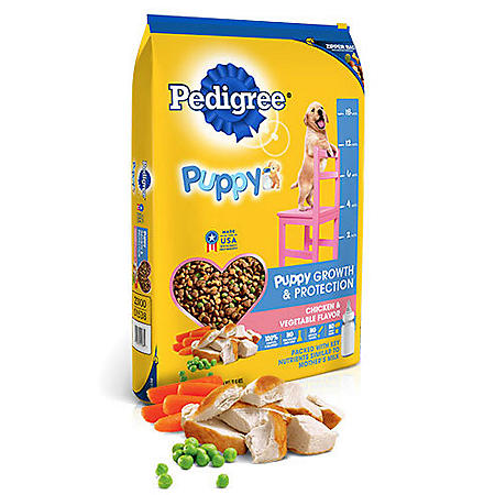 Pedigree Puppy Growth & Protection Dry Dog Food Chicken & Vegetable Flavor (36 lbs.)
