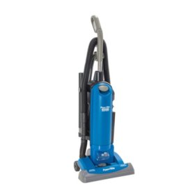 "Powr-Flite 15"" HEPA Commercial Upright Vacuum with On-Board Tools"